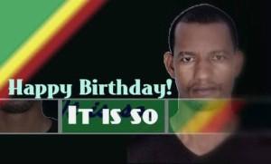 Happy burthday Abriham Desta