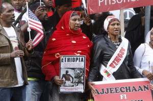 Addis- Demonstration in may 2014
