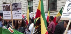 Ethiopians Demonstaration 1