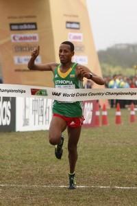 Haji defends Ethiopian honour to win junior men's title in Guiyng IAAF
