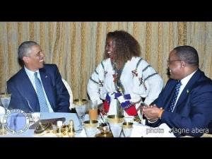 President Obama ethiopian eskista