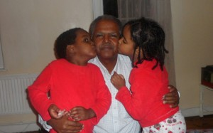 Andargachew Tsege and children