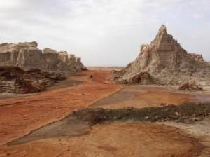Eastern Afar Region in Ethiopia, hit by drought AFP photo- Francos Martel