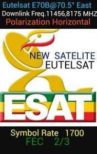 ESAT new satelit