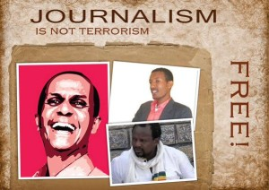 The world must not forget the jailed jornalists of Ethiopia - Photo from Addis Voice