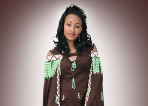 Oromo singer, Hawi photo globalvoice