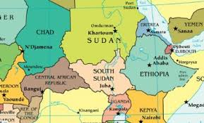 Ethio Sudan - Map