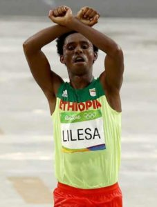 Feysa Lilesa Rio2016 silver